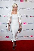 Tori Spelling attends OK Magazine's PreOscar event at The Argyle on February 19 2015 in Hollywood California