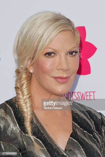 Tori Spelling attends LA's Best annual family dinner 2015 at Skirball Cultural Center on June 27 2015 in Los Angeles California
