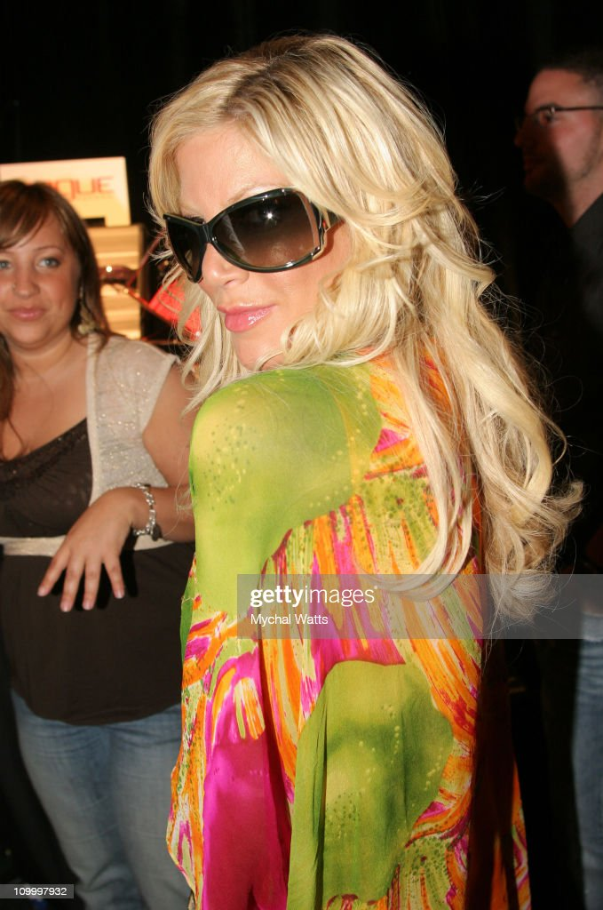 Tori Spelling during 17th Annual MuchMusic Video Awards On 3 Productions Gift Lounge Day 2 at MuchMusic Studios in Toronto Ontario Canada