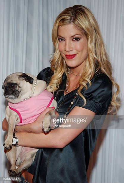 Tori Spelling during 2004 Best Friends Lint Roller Party at Hollywood Athletic Club in Hollywood California United States