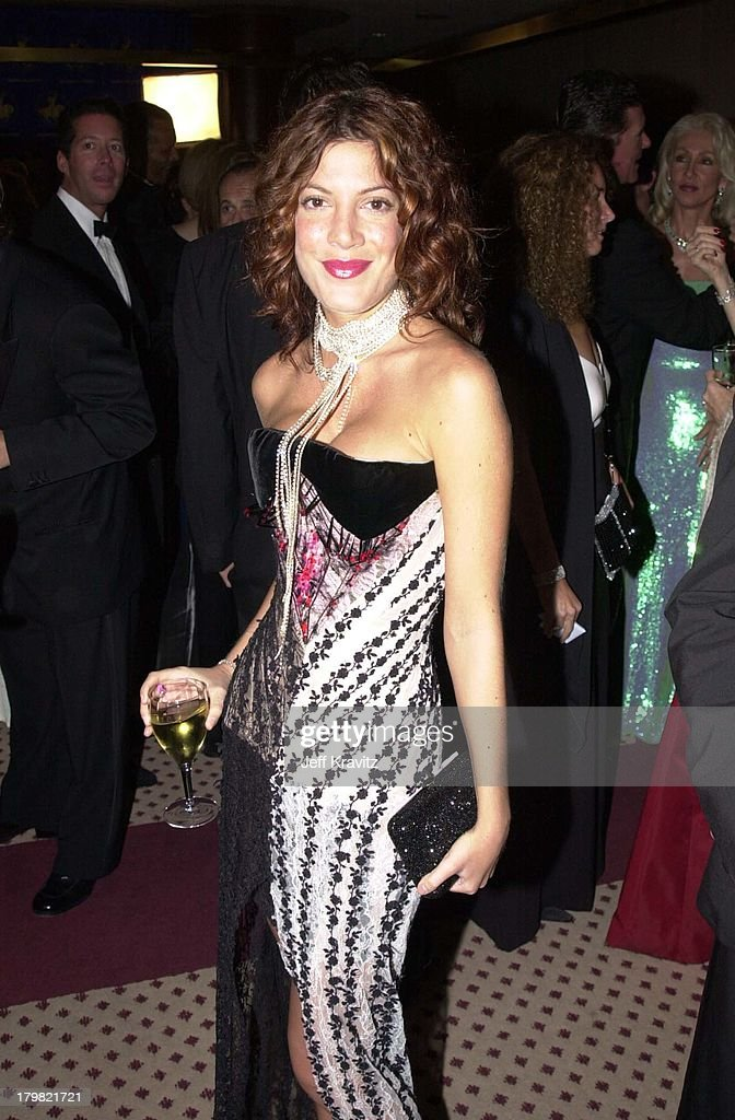 Tori Spelling during Carousel Ball 2000 in Beverly Hills, California, United States.