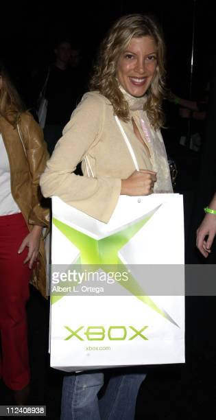 Tori Spelling during Launch Party For Xbox Live Party at Peek at The Sunset Room in Hollywood California United States