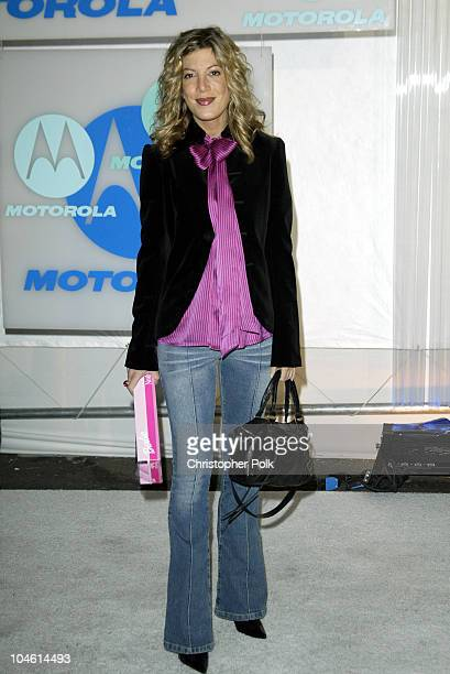 Tori Spelling during Motorola Hosts Fourth Annual Holiday Party Arrivals at The Lot in Hollywood CA United States