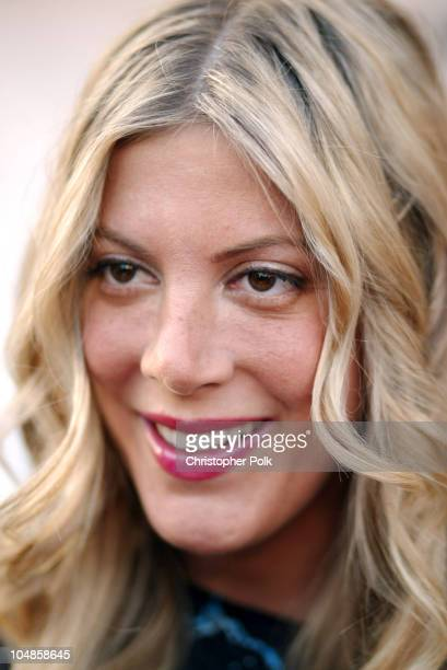 Tori Spelling during Much Love Animal Rescue Hosts its Second Annual Comedy Charity Event at The Laugh Factory in Hollywood California United States