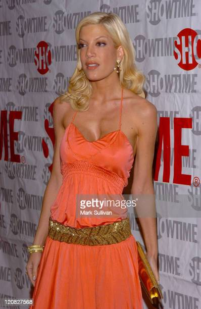 Tori Spelling during Showtime's 'Fat Actress' Los Angeles Premiere Arrivals at Cinerama Dome at Arclight Cinemas in Hollywood California United States