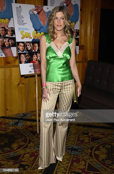 Tori Spelling during 'Sol Goode' DVD Release Party at Club 1650 in Hollywood California United States