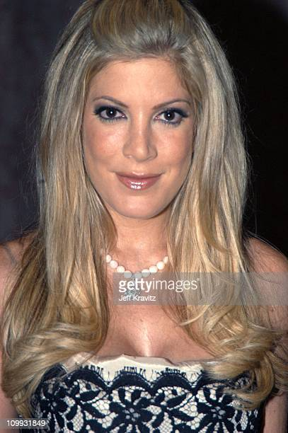 Tori Spelling during The Lili Claire Foundation's 6th Annual Benefit Hosted by Matthew Perry Red Carpet Arrivals at The Beverly Hilton Hotel in...