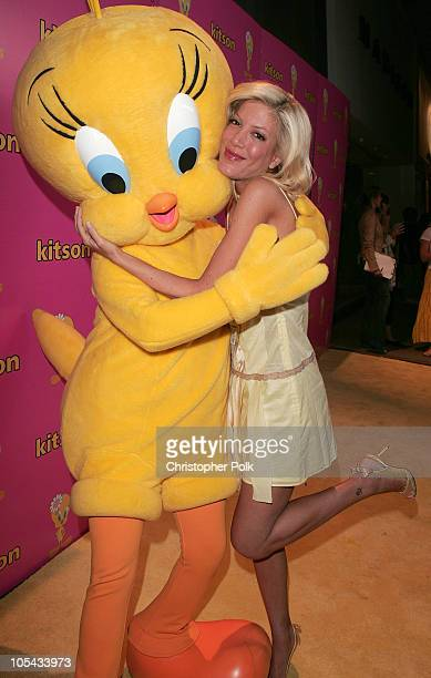 Tori Spelling during Tweety 'Natural Blonde' Shopping Party and Clothing Launch Arrivals at Kitson in Los Angeles California United States