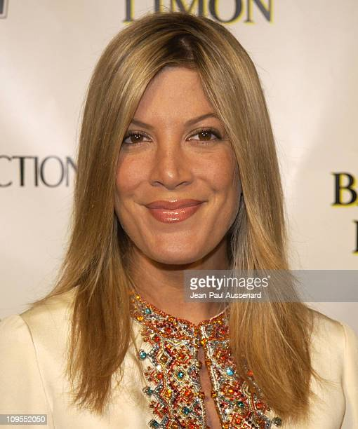 Tori Spelling during W Magazine and Bacardi Limon Host a Tribute to Vintage Fashion Arrivals at Chateau Marmont in Los Angeles California United...