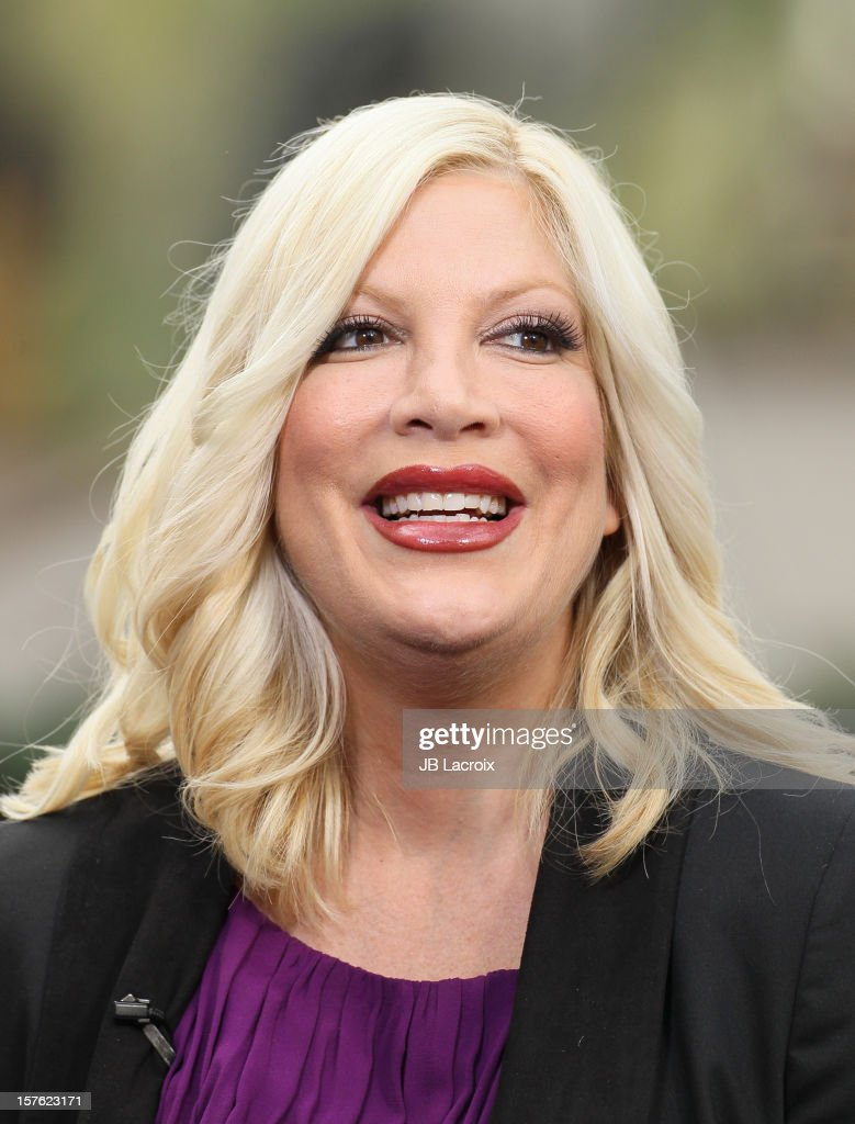 <a gi-track='captionPersonalityLinkClicked' href=/galleries/search?phrase=Tori+Spelling&family=editorial&specificpeople=202560 ng-click='$event.stopPropagation()'>Tori Spelling</a> is seen at The Grove on December 4, 2012 in Los Angeles, California.