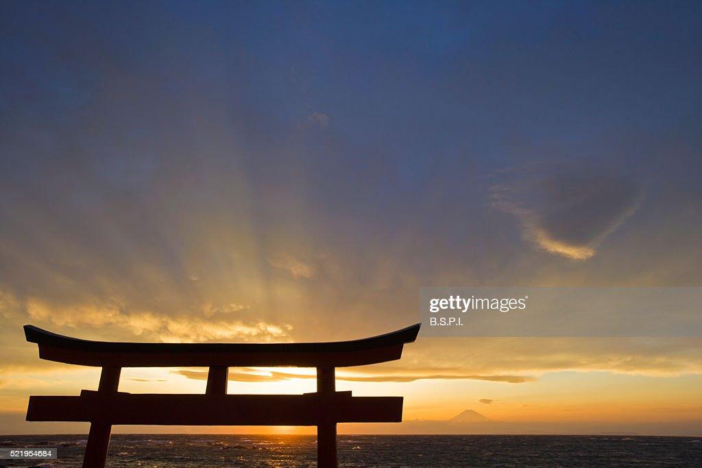 Torii Gate on Sagami Bay