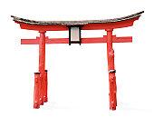 Torii gate (clipping path)