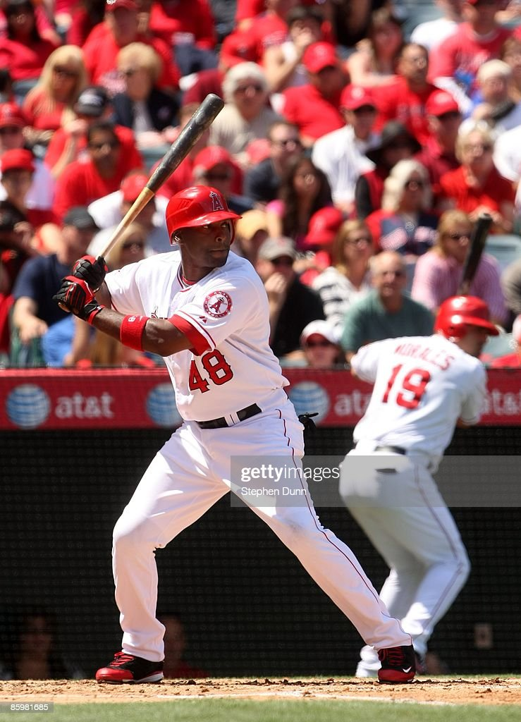 3a88d754d69 ... Torii Hunter 48 of the Los Angeles Angels of Anaheim bats against the  Boston Red ...