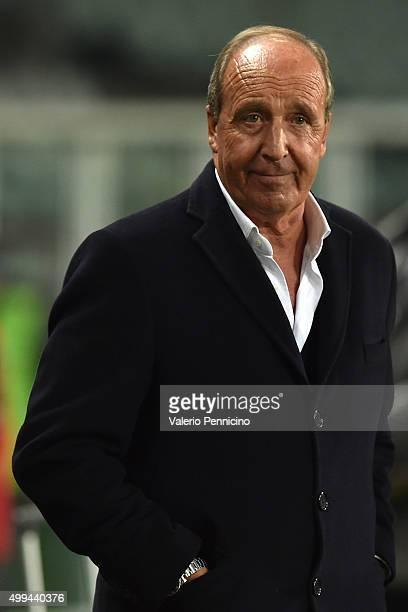 Torino FC head coach Giampiero Ventura looks on during the TIM Cup match between Torino FC and AC Cesena at Stadio Olimpico di Torino on December 1...