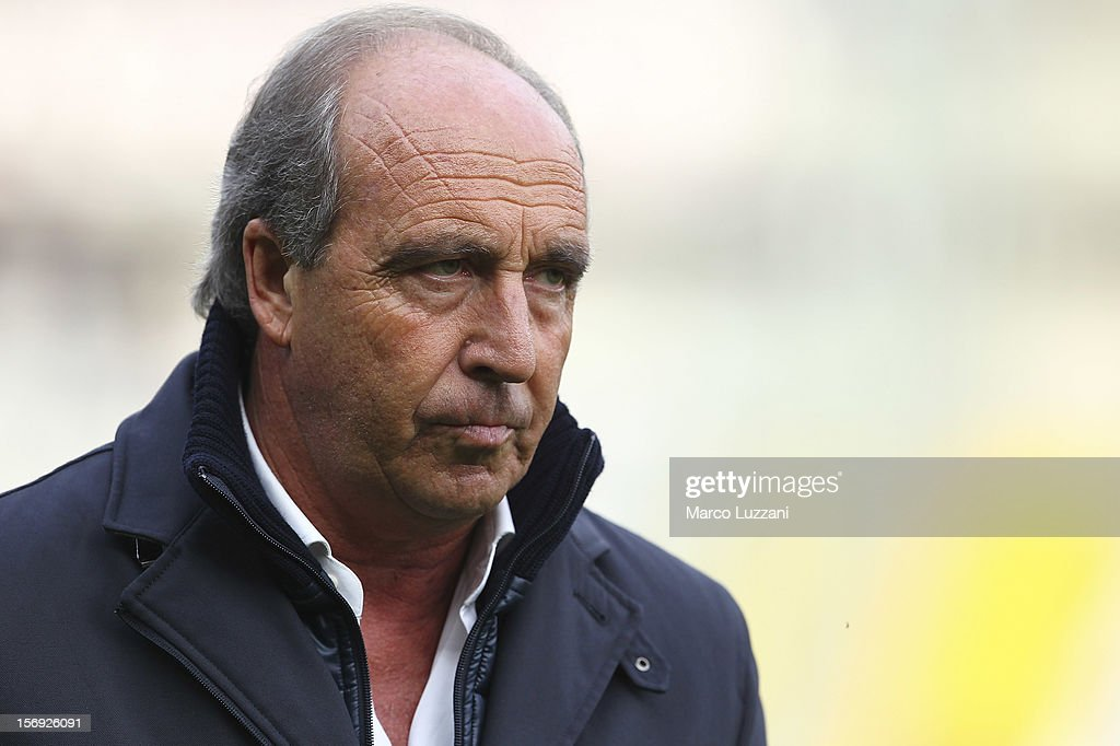 Torino FC manager Giampiero Ventura looks on before the Serie A match between Torino FC and ACF Fiorentina at Stadio Olimpico di Torino on November 25, 2012 in Turin, Italy.