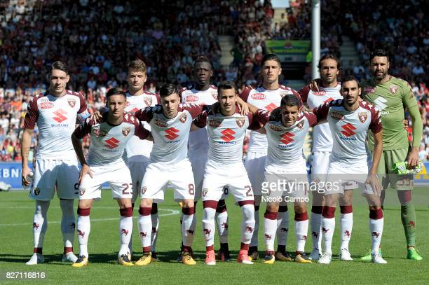 Torino FC starting eleven pose for a group photo prior to the preseason friendly football match between SC Freiburg and Torino FC Torino FC wins 21...