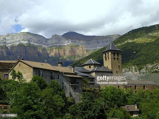 Torla, pueblo del Pirineo