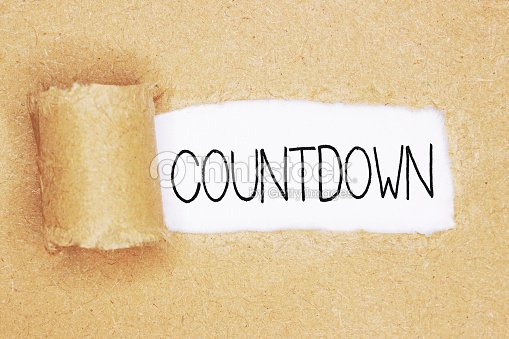 how to create a word countdown word