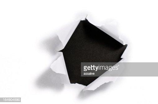 Torn 紙ホール