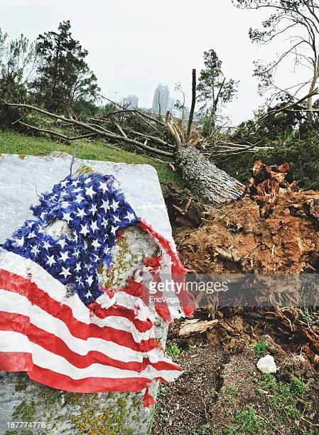 Tornado Damage in Raleigh NC