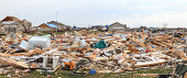 Extensive tornado damage to the neighborhoods and home in Washington, Illinois hit by an F4 strength tornado.