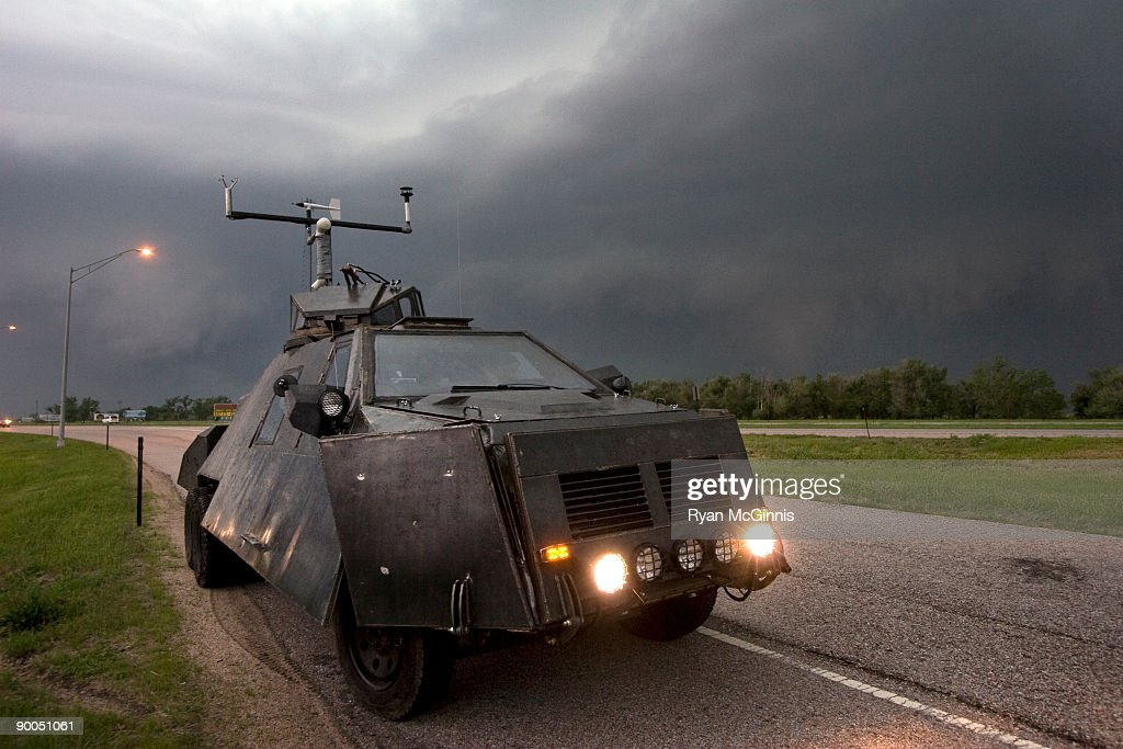 Tornado Intercept Vehicle 2 : Stockfoto