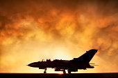 Tornado war plane