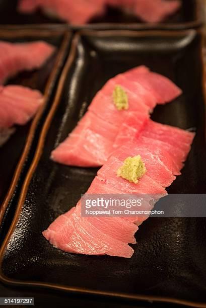 Toro Nigiri sushi