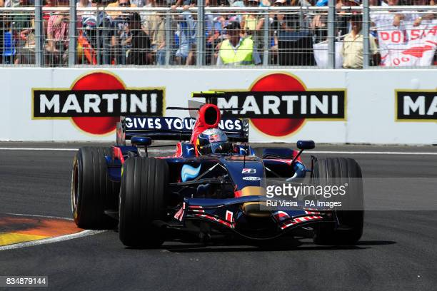 Toro Rosso driver Sebastian Vettel during the European Grand Prix in Valencia Spain