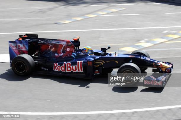 Toro Rosso's Sebastien Bourdais during a practice session at the Circuit de Monaco Monte Carlo Monaco