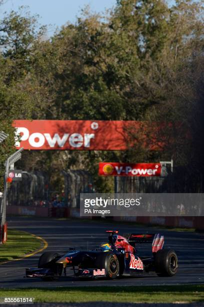 Toro Rosso's Sebastien Bourdais during the Australian Grand Prix at Albert Park Melbourne Australia