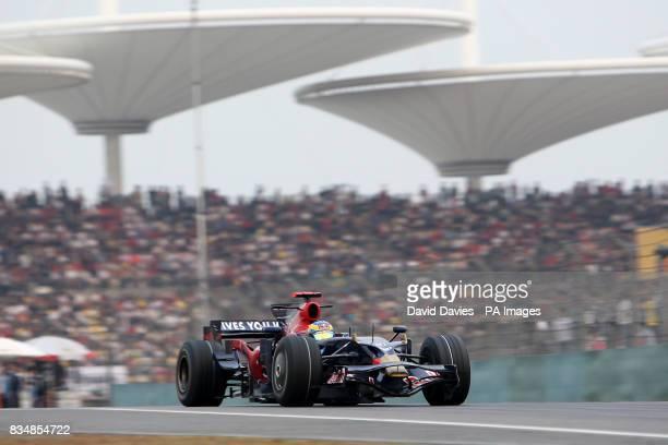 Toro Rosso's Sebastien Bourdais during the Formula One Sinopec Chinese Grand Prix at the Shanghai International Circuit China