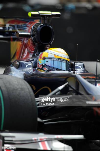 Toro Rosso's Sebastien Buemi during a practice session at the Circuit de Monaco Monte Carlo Monaco