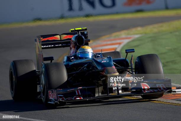 Toro Rosso's Sebastien Buemi during the Australian Grand Prix at Albert Park Melbourne Australia