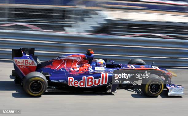 Toro Rosso's Sebastien Buemi during the Practice Session of the Monaco Grand Prix Monte Carlo