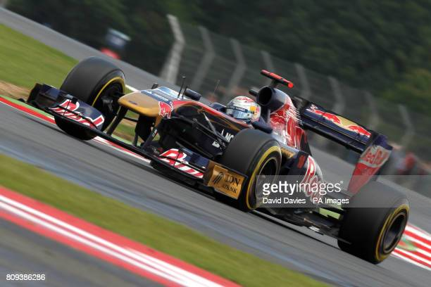 Toro Rosso's Sebastien Buemi during the Santander British Grand Prix at Silverstone Circuit Northamptonshire Sunday July 10 2011