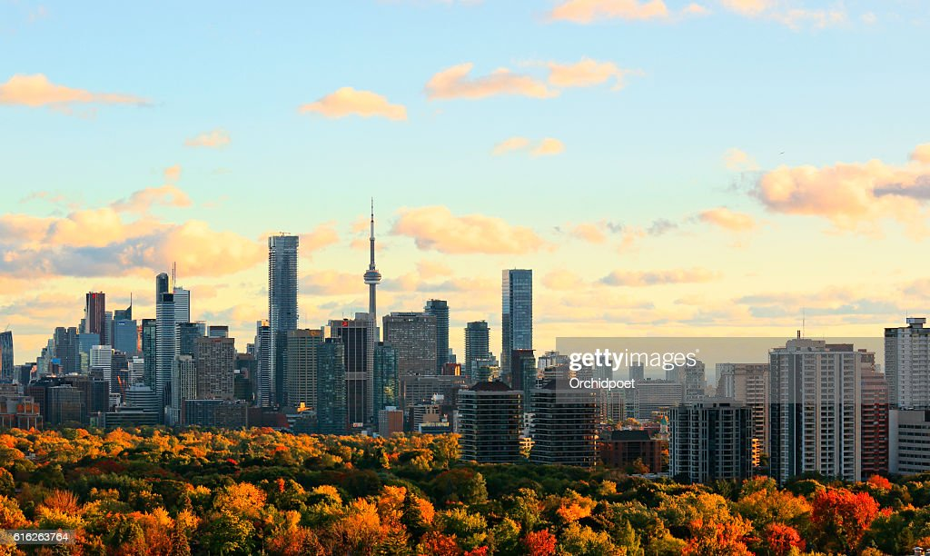 Toronto Autumn Skyline : Stock Photo