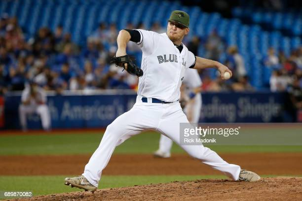 Toronto Blue Jays relief pitcher JP Howell works late in the game This game had just about everything including a field invasion by a young man Jays...