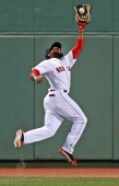 Toronto Blue Jays scored three runs in the top of the fifth inning and it could have been worse for the Boston Red Sox but center fielder Jackie...