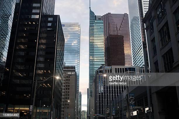Toronto buildings.