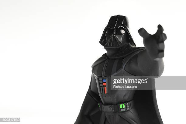 Toronto Canada November 19 2015 Darth Vader is part of the Disney Infinity Collection Toys to life are the hottest things in gaming helping the...