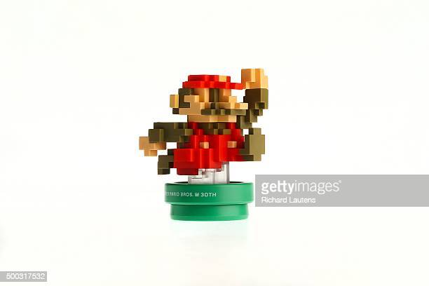 Toronto Canada November 19 2015 Nintendo Amiibo 8Bit Modern Mario by Wii U Toys to life are the hottest things in gaming helping the bottom line but...