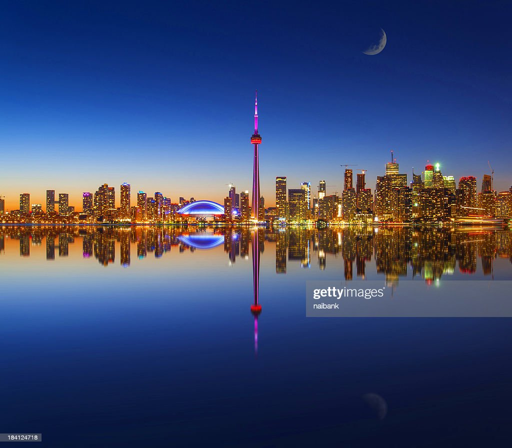 Toronto city and its reflection