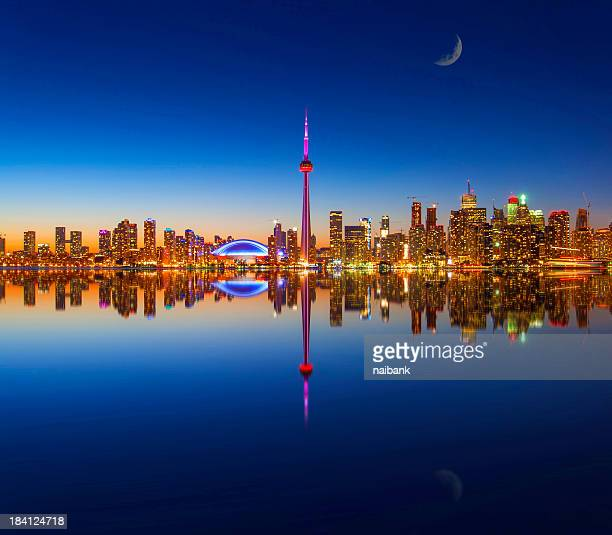 Toronto city and its reflection