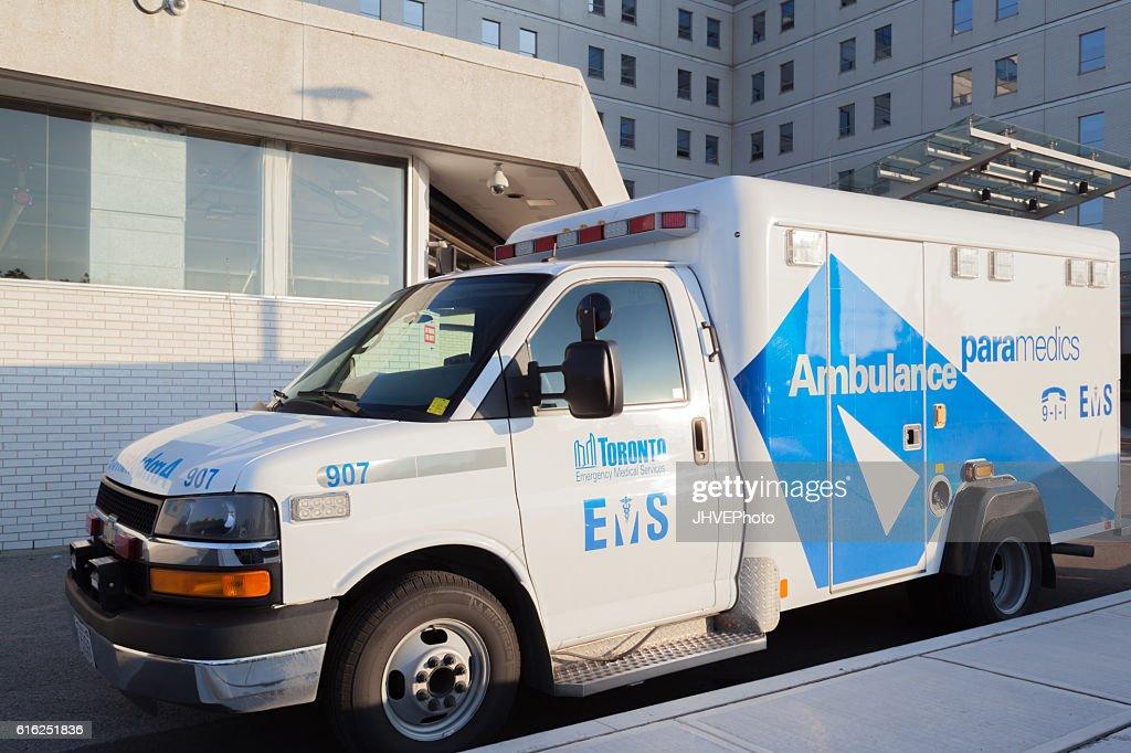 Toronto Emergency Ambulance : Foto de stock