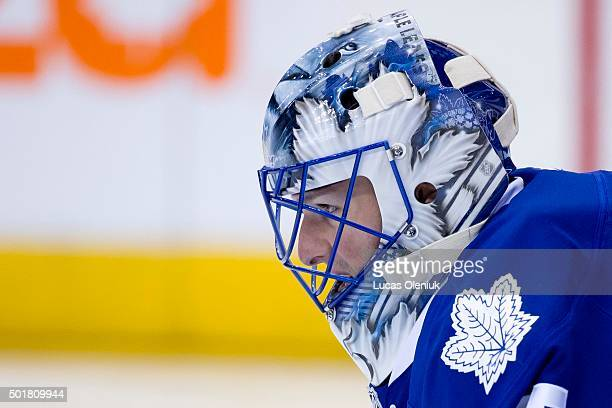 Toronto goalie Jonathan Bernier took over for Garret Sparks midway through the first period The Toronto Maple Leafs hosted the San Jose Sharks...