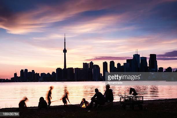 Toronto Island Familie Picknick-Kanada