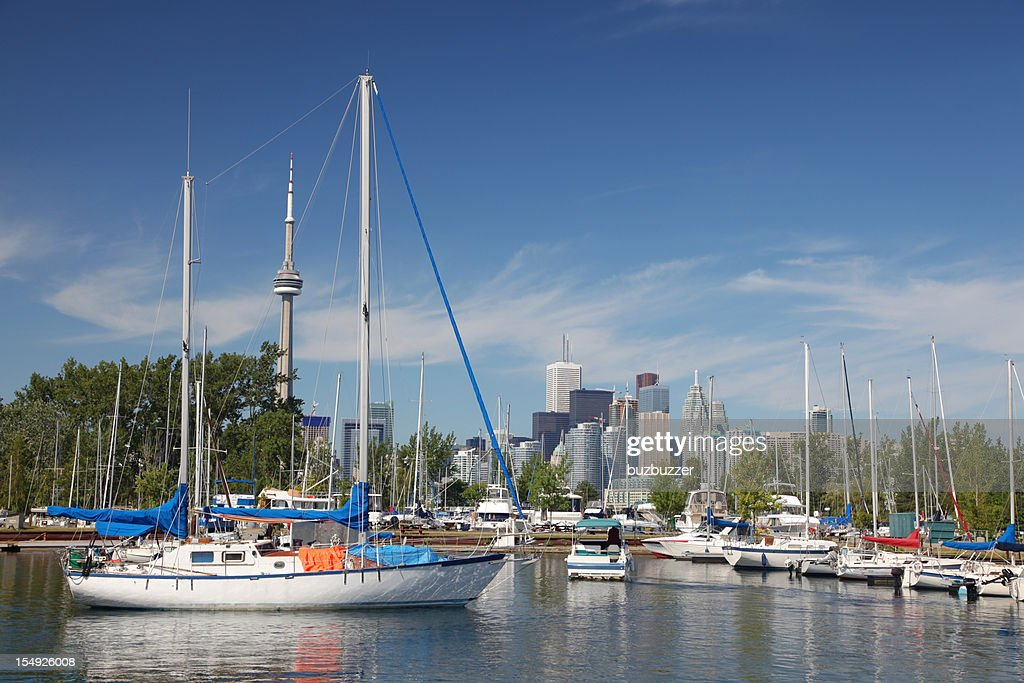 Toronto Island Marina : Stock Photo