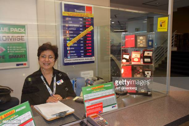 Toronto Lester B Pearson International Airport currency exchange booth