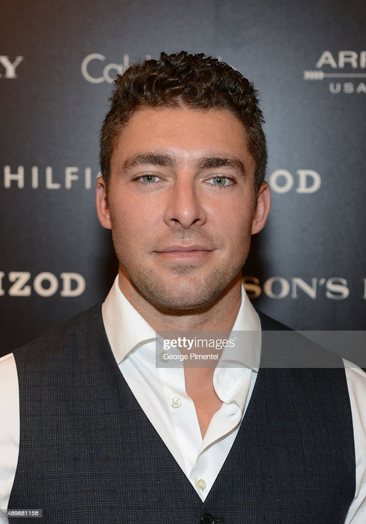 Toronto Maple Leaf Joffrey Lupul Attends Guys Night Out At Hudson's Bay Queen Street